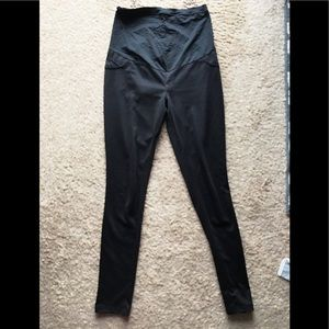 Maternity skinny black pants